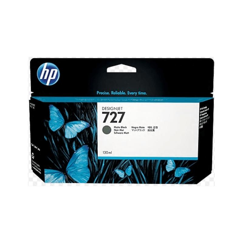 TINTA HP 727 130 ML NEGRO MATE ORIGINAL (B3P22A) | NYSI Soluciones