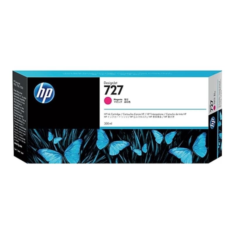 TINTA HP 727 300 ML MAGENTA ORIGINAL (F9J77A) | NYSI Soluciones