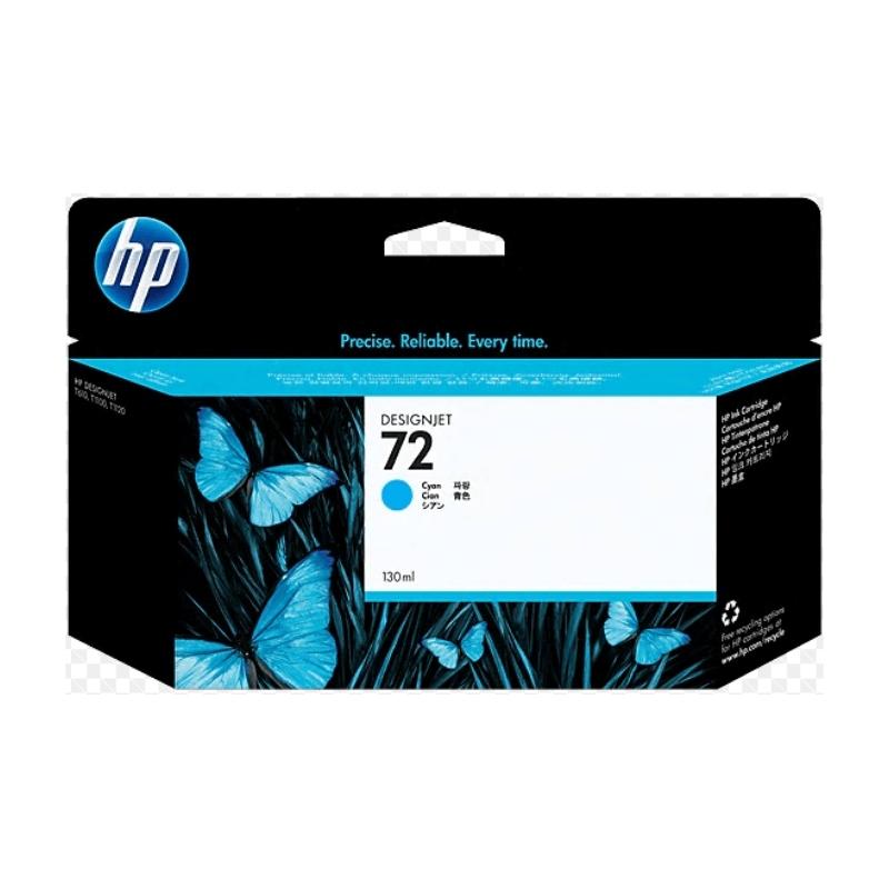 TINTA HP 72 130 ML CYAN ORIGINAL (C9371A)   NYSI Soluciones