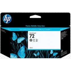Cartucho de tinta DesignJet HP 72 de 130 ml gris