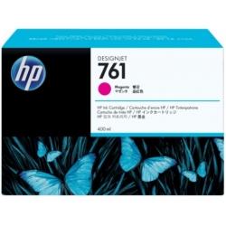 Cartucho de tinta DesignJet HP 761 de 400 ml magenta