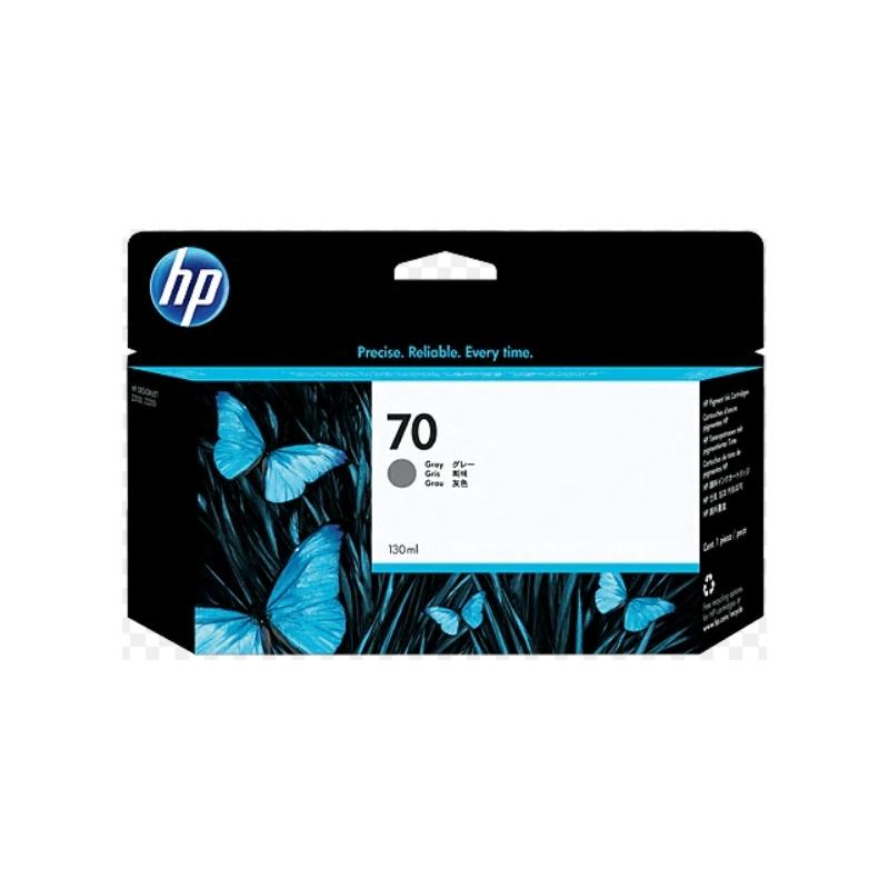 Cartucho de tinta DesignJet HP 70 de 130ml gris | NYSI Soluciones