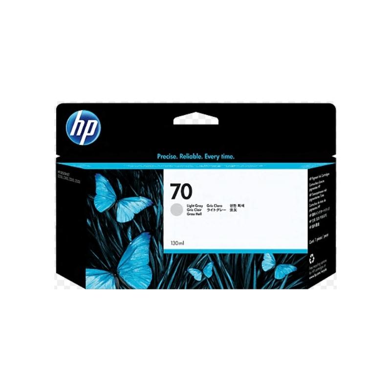 Cartucho de tinta DesignJet HP 70 de 130ml gris claro | NYSI Soluciones