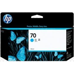 Cartucho de tinta DesignJet HP 70 de 130 ml cian