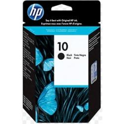 Cartucho original de tinta negra HP 10