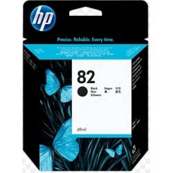 Cartucho de tina DesignJet HP 82 negro de 69 ml
