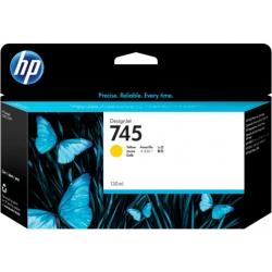Cartucho de tinta DesignJet HP 745 de 130 ml amarillo   NYSI Soluciones