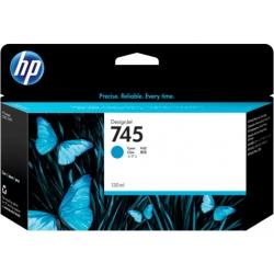 Cartucho de tinta DesignJet HP 745 de 130 ml cian | NYSI Soluciones