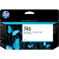 Cartucho de tinta DesignJet HP 745 de 130 ml negro fotográfico
