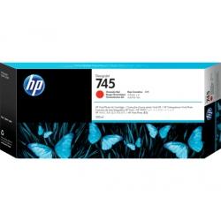 Cartucho de tinta Designjet HP 745 de 300 ml rojo cromático  Catálogo  Productos