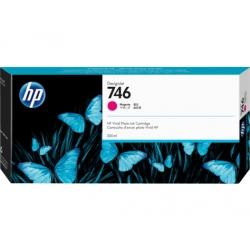 Cartucho de tinta HP DesignJet 746 de 300 ml, magenta