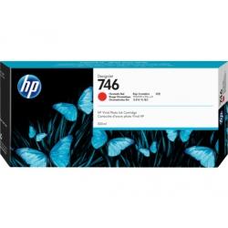 Cartucho de tinta HP DesignJet 746 de 300 ml, rojo cromático