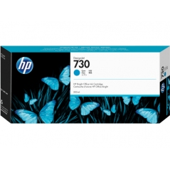 TINTA HP 730 300 ML CYAN ORIGINAL (P2V68A)