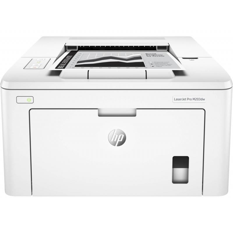 Impresora HP M203DW Láser | NYSI Soluciones