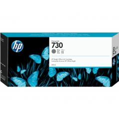 TINTA HP 730 300 ML GRIS ORIGINAL (P2V72A)