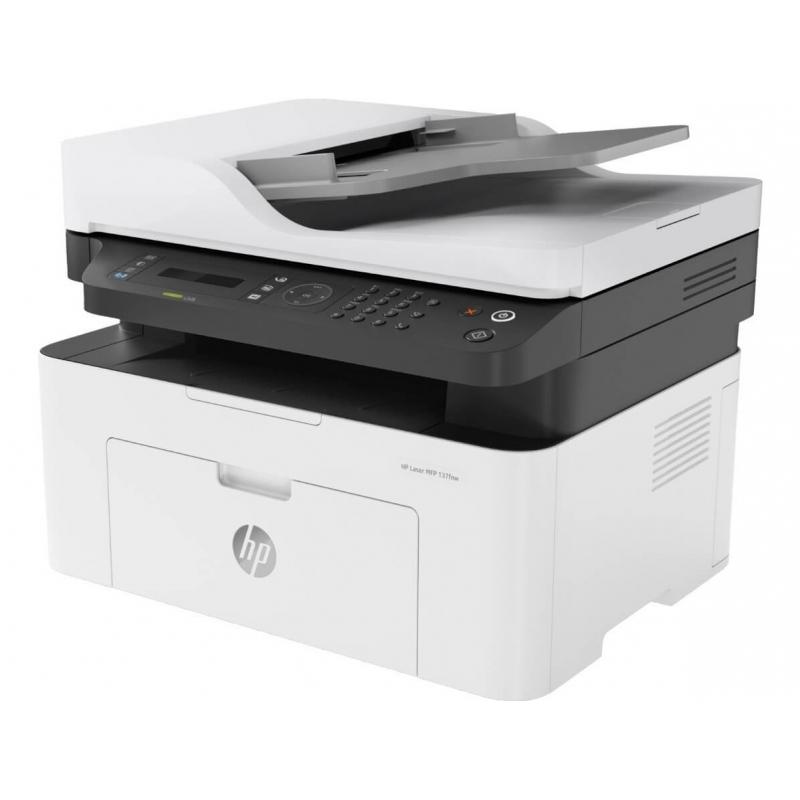 Impresora HP 137FNW Multifuncional Láser | NYSI Soluciones