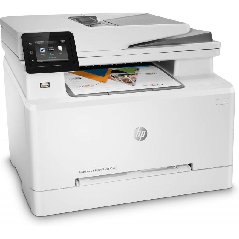 Impresora HP M283FDW Multifuncional Láser Color   NYSI Soluciones