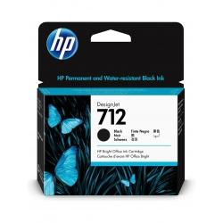TINTA HP 712 80 ML NEGRA ORIGINAL (3ED71A) | NYSI Soluciones