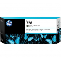 TINTA HP 728 300 ML NEGRO MATE ORIGINAL (F9J68A) | NYSI Soluciones