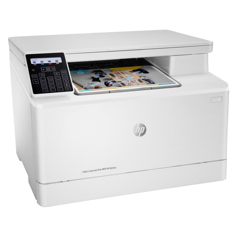 Impresora HP M182NW Multifuncional Láser Color   NYSI Soluciones